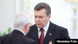 Віктор Янукович та Леонід Кравчук