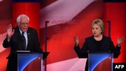 Debata Bernie Sanders i Hillary Clinton