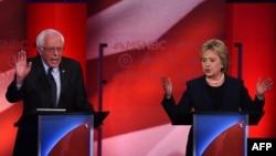 Berni Sanders i Hilari Klinton