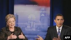 مناظره اوباما و کلینتون.(عکس:AFP)