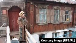 """""""Дом Шаляпина"""" - один из памятников деревянного зодчества в Уфе. Иллюстративное фото."""