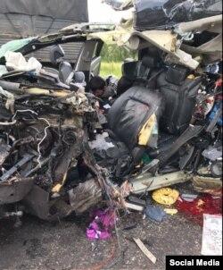 Авария в Ставропольском крае