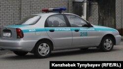 Полицейская машина. Иллюстративное фото.
