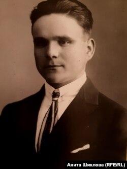 Язепс Эзериньш, отец Бенильды