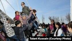 Праздничные мероприятия в казахстанском регионе. Иллюстративное фото.