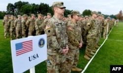 """В учениях """"Быстрый трезубец"""" под Львовом в 2017 году участвовали американские, польские и украинские войска"""