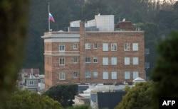 Здание российского консульства в Сан-Франциско