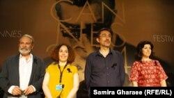 نوری بیلگه جیلان، کارگردان خواب زمستانی (نفر دوم از راست)
