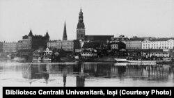 Riga în anii 1930. Sursă: Biblioteca Centrală Universitară, Iași