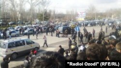 Tajikistan -- explosion in Dushanbe, the day of the celebration of the international holiday of Nowruz, 25Mar2012