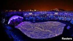 Церемония открытия Олимпийских игр-2016 в Рио-де-Жанейро.