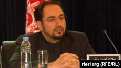 د افغانستان بهرنیو چارو وزیر صلاح الدین رباني
