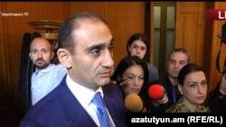 Председатель Комитета государственных доходов Армении Вардан Арутюнян, Ереван, 31 октября 2017 г.