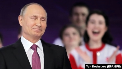 Young People And Factory Workers Launch Of Putin S Reelection Bid Hints At Campaign Strategy