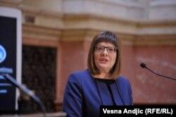 Gojković zadovoljna je načinom i sadržinom diskusije iako se na konsultacijama šefova poslaničkih grupa nije pojavio niko od poslanika koji bojkotuju rad parlamenta