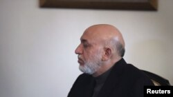 د افغانستان ولسمشر حامد کرزی