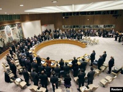 Vijeće sigurnosti UN na zasjedanju 15. decembra 2010