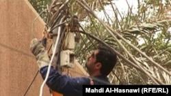 عامل كهرباء في الناصرية