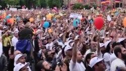 Festë në Jerevan pasi Pashinian zgjidhet kryeministër