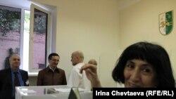 Pamje nga zgjedhjet për presidentin e Abkhazisë.