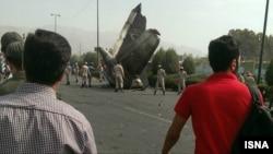 Iran - Mehrabad crash august 2014