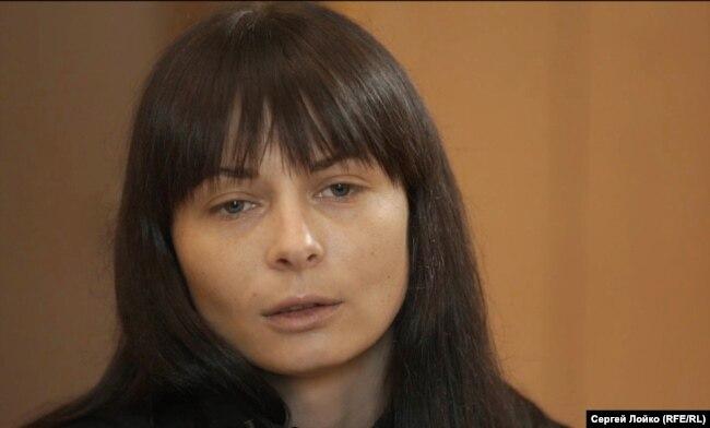 Дарья Мастикашева в тюрьме в города Днепр в 2017 году