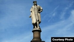 Памятник Колумбу в Нью-Йорке
