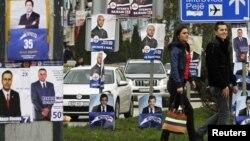 Posterë nga zgjedhjet e kaluara parlamentare (Foto arkiv).