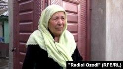Мӯътабар Акабаралиева, яке аз ҳамсояҳои хонаводаи Сӯҳроб Каримов.