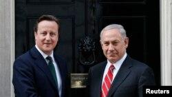 نخست وزیر اسرائیل در سفر خود به لندن، با همتای بریتانیایی خود دیدار کرد- ۲۸ فروردین ۱۳۹۲