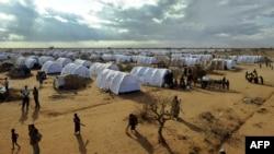 Kamp refugjatësh në Somali