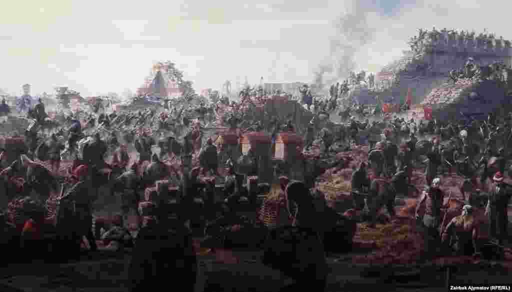 Реалистичность изображения усиливается акустическими эффектами. Здесь звучат военные марши, слышатся грозные выкрики командиров и громоподобные выстрелы осадных орудий.