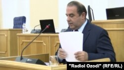 Джамшед Нурмухаммадзод, председатель Национального банка Таджикистана