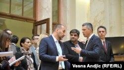 Kako ujediniti opoziciju: Saša Janković, Boško Obradović i Saša Radulović, čelnici opozicije u Srbiji i predsednički kandidati na izborima