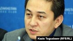 Әділ Жәлелов, Медиа Альянс төрағасы. Алматы, 13 наурыз 2013 жыл