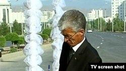 Türkmenistanyň medeniýet we teleradioýaýlymlar ministri Gulmyrat Myradow