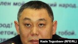 Начальник алматинской тюрьмы Манас Туякбаев. Алматы, 18 ноября 2011 года.