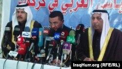 أعضاء في المجموعة العربية في كركوك