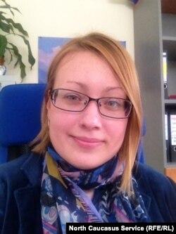 Российский правозащитник Анастасия Кушлейко.
