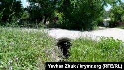 Ливнесток на улице Ахтырской