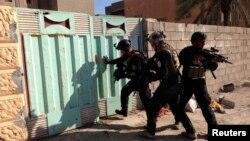 Ирак -- Рамади шаарындагы атайын аскерлер, 26-февраль, 2014.