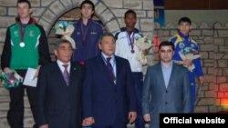 Osiyo boks konfederatsiyasi sobiq prezidenti G'afur Rahimov (o'r.), Toshkent sh, 2010 yil.