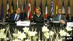وزرای اروپایی برای برپایی نشست های دوره ای خود در اسلونی جمع شده اند.