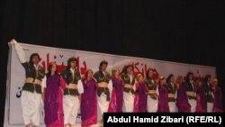 من حفل افتتاح مؤتمر فناني كردستان
