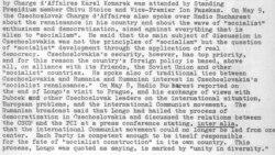 Cultură și politică: Invazia sovietică a Cehoslovaciei în 1968 în știrile Europei Libere