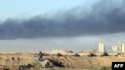 Иракские войска ведут наступление на Фаллуджу, находящуюся под контролем группировки «Исламское государство», 23 мая 2016 года.