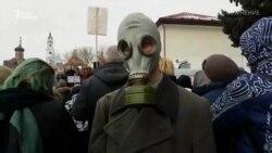 Тисячі людей протестують проти токсичного звалища поблизу Москви (відео)