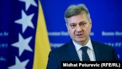 Denis Zvizdić, predsjedavjućeg Vijeća ministara BiH