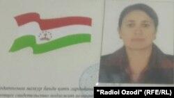Удостоверение личности Хилолби Назаровой