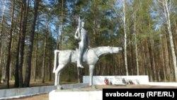 Мэмарыял савецкім кавалерыстам.